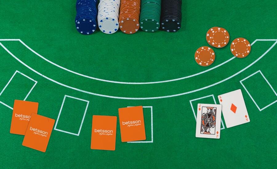¿Cómo jugar al Blackjack en Betsson?