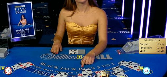 ¿Cómo jugar al Blackjack en William Hill?