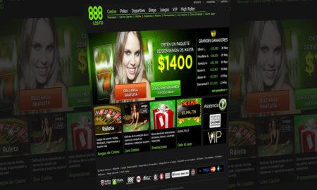 Juegos por dinero en 888