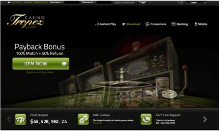 ¿Cómo acceder a los juegos gratis y las tragamonedas de Casino Tropez?