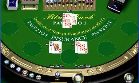 ¿Cómo hacer apuestas en el blackjack gratis de Casino Tropez?