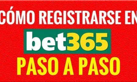 ¿Cómo registrarse en Bet365?