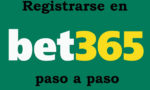 Pasos para registrarse en Bet365