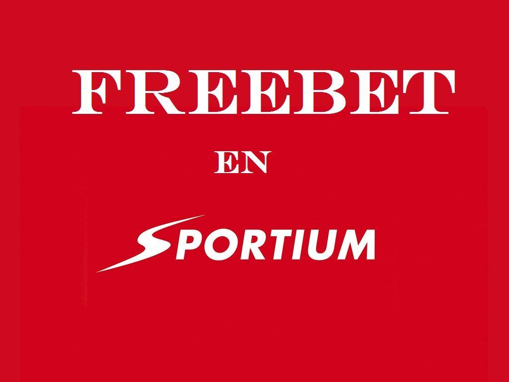 ¿Cómo apostar freebet en Sportium?